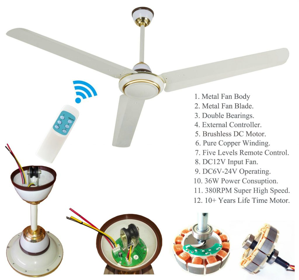 Cheap-Price-DC-Ceiling-Fan-Five-Levels-Remote-Control-with-BLDC-Motor